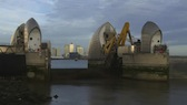 Thames Barrier Closing 1